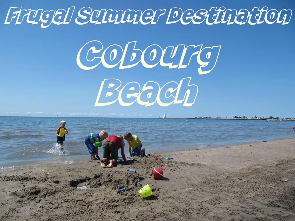 Frugal Summer Destination Cobourg Beach