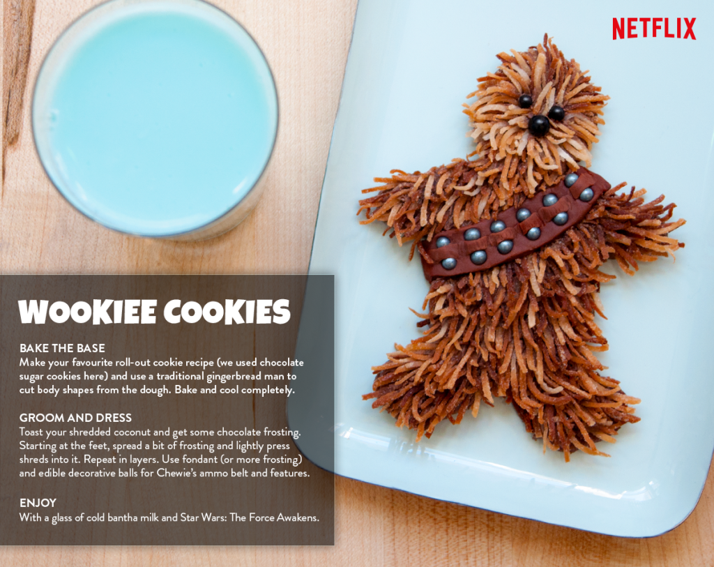 Star Wars Wookie Cookie!!