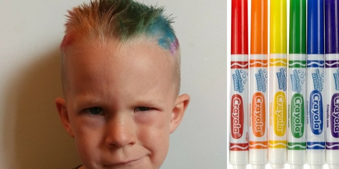 Wash Out Hair Dye for Kids: Rainbow Crazy Hair