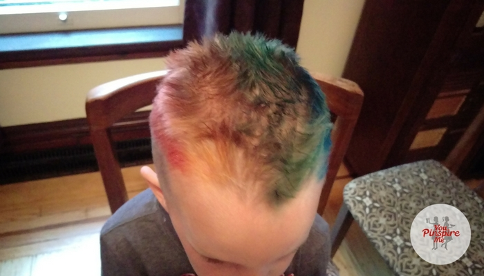 Colouring Hair with Crayola Markers