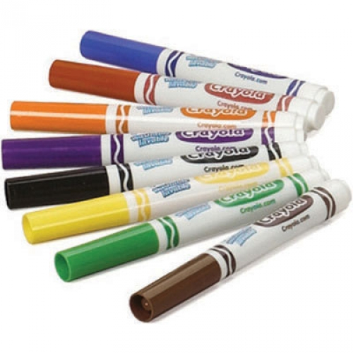 Crayola Markers for Dyeing Hair