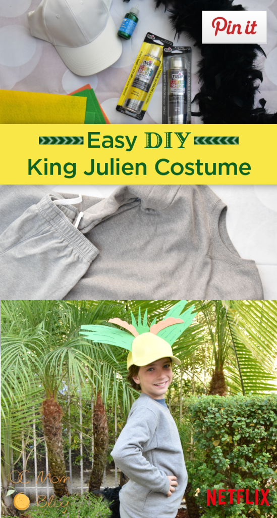 King Julien Costume - Last Minute Halloween Costume