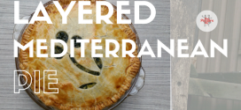 Ham & Spinach Quiche {Layered Mediterranean Pie}