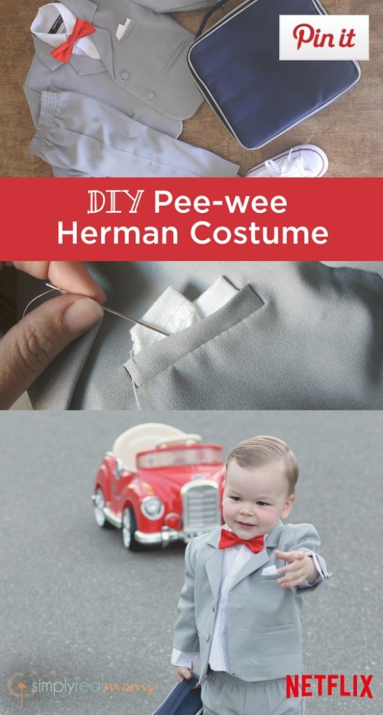 Pee-wee Herman Costume - Last Minute Halloween Costume