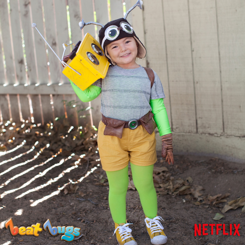 Beat Bugs Halloween Costume - Last Minute Halloween Costume