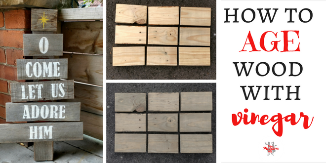 How to Age Wood with Vinegar