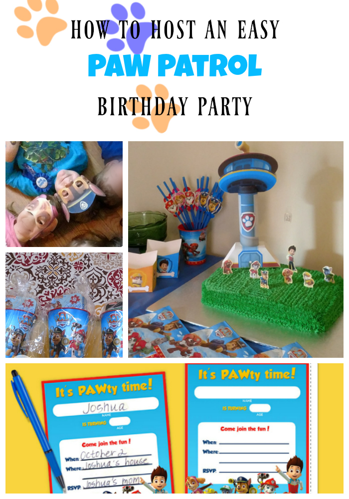 How to Host a Cheap and Easy Paw Patrol Birthday Party