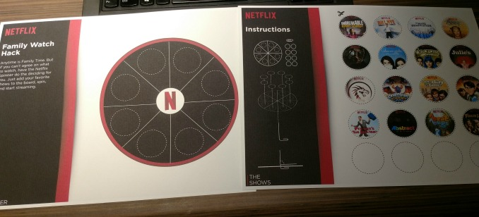 Netflix Wheel of Destiny #StreamTeam