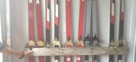 DIY Ski Storage for Garage #palletideas