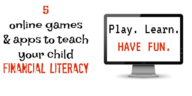 5 games to teach your children financial literacy