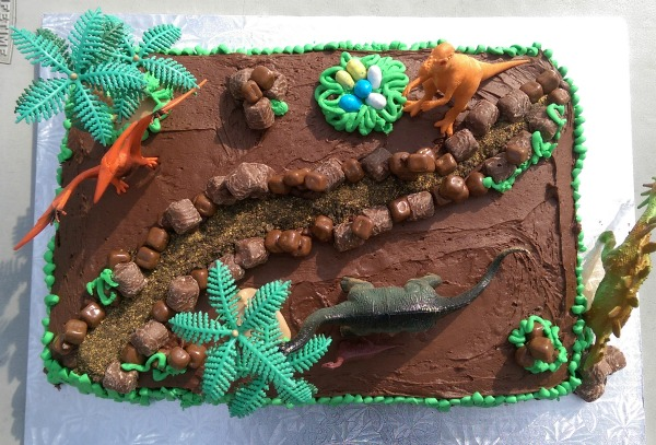 Easy Dinosaur Cake Birthday Party Ideas For Kids You